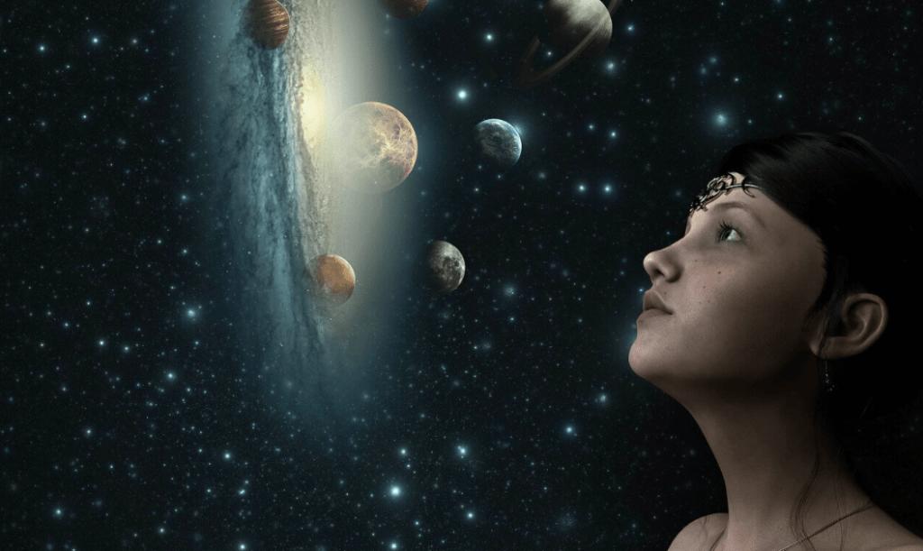 fantasy space star universe