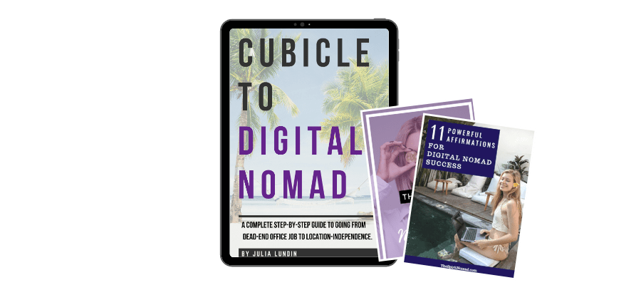 cubicle to digital nomad